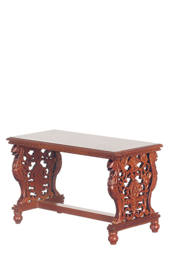 AZP6003 - Gryphon Library Table, Walnut