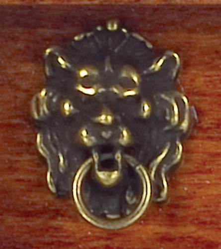 AZS3077A - Lion Head Knocker/Antique
