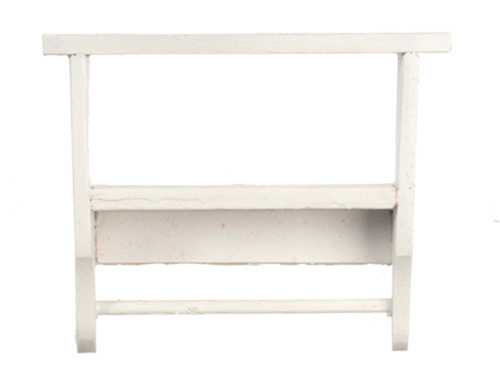 AZT5365 - Kitchen Wall Shelf, White