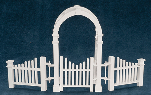 AZT5369 - Arbor W/ Gate And Fence