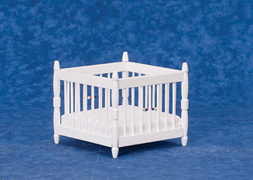 AZT6047W - Play Pen, White, Cb