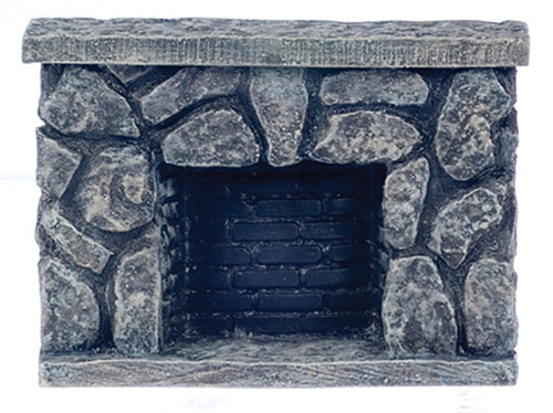 AZYM0804 - Fieldstone Fireplace