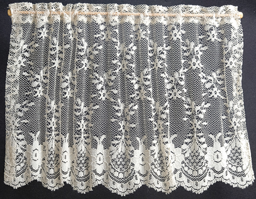 BB50201 - Curtains: Lace Picture Window, Ecru