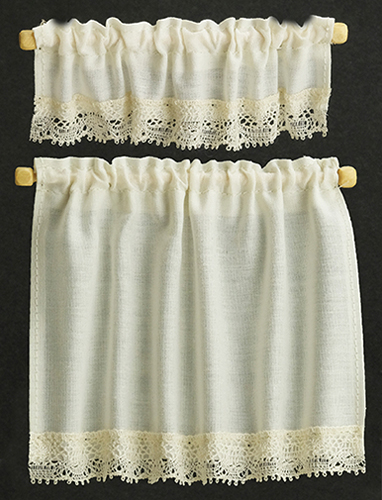 BB50401 - Curtains: Cottage Set, Ecru