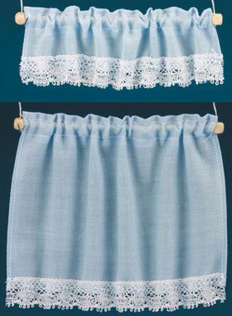 BB50403 - Curtains: Cottage Set, Blue