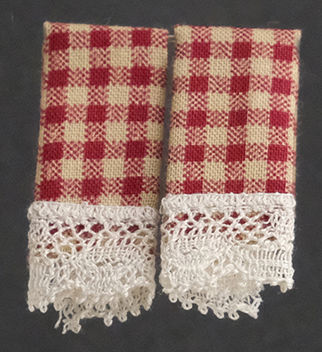 BB50626 - Dish Towels: Country Red (2)