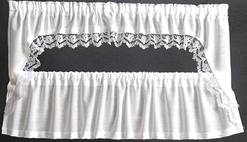 BB52412 - Curtains: Picture Window Cape, White