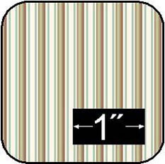 BPCFL41 - Cotton Fabric: Pagoda Stripe