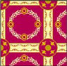 BPRG110 - Rug: Empire Red