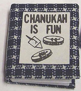 BYBJC7 - Chanukah Is Fun Book