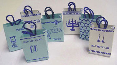 BYBJHD9 - 7 Judaic Shopping Boxes