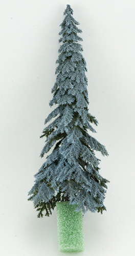 CA0539 - Eastern Blue Spruce on Spike, 8 Inches