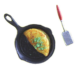 CAR0848 - Omelet with Pan & Spatula