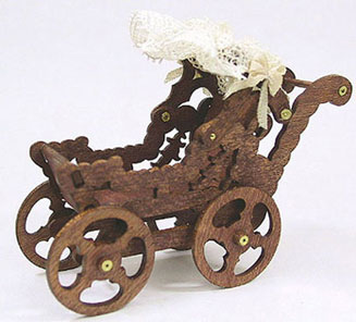 CATS42 - 1In 1900'S Doll Buggy Kit