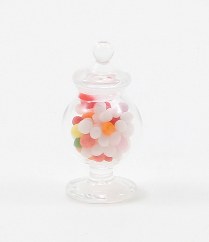 CB106 - Ftd. Glass Apothecary Candy Jar