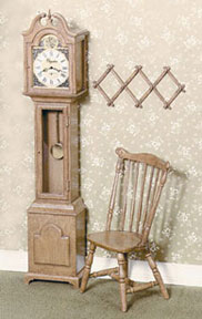 CB2100 - F-100 Grandfather Clock Kit, Brown