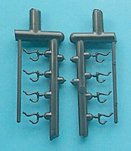 CB2708 - Clothes Hook, 8 Pcs.