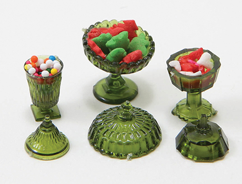 CB50 - Candy Dishes W/Candy
