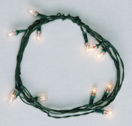 CK1020-1 - Clear Christmas Bulb String