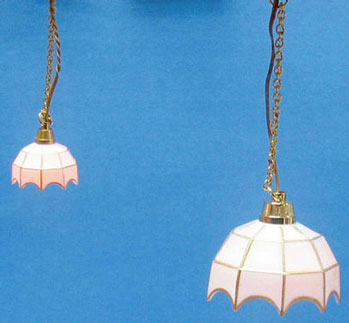CK2401 - Hs: White-Tiffany Hanging Lamp