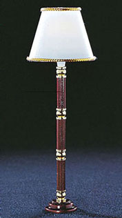 CK4302 - Stained Base Floor Lamp