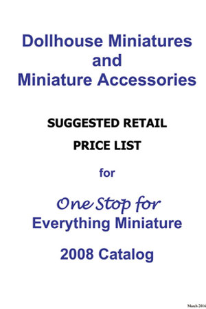 CLA00013 - Retail Price List For Hh2008