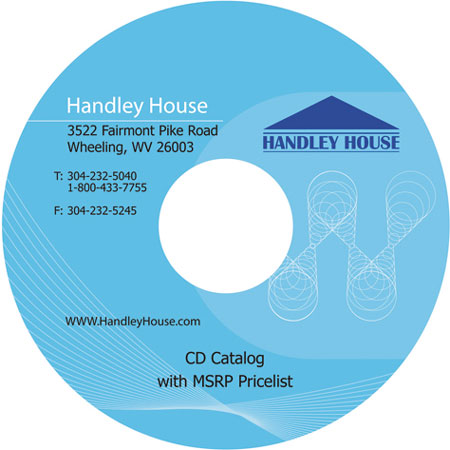 CLA00014 - Handley House 2008 Cd Catalog, Retail Prices