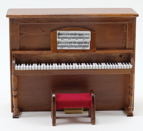 CLA02754 - Upright Piano with Bench