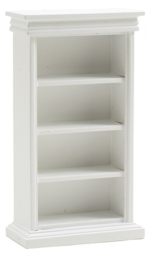 Bookshelf without Books, White  ()