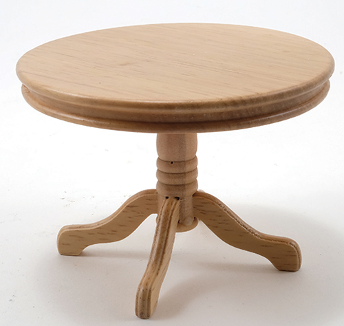 CLA10229 - Pedestal Kitch Table, Oak