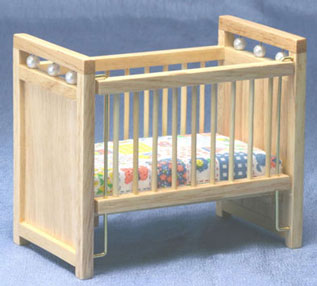 CLA10363 - Crib, Oak