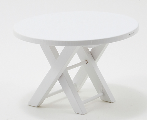 CLA10430 - Outdoor Table, White Azm0356
