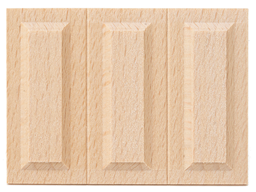 CLA71070 - Wainscot Panel, 3 panel = 1 sheet