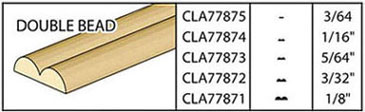 CLA77874 - Double Bead, 1/16 X 24
