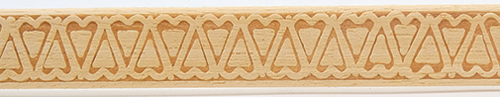 CLA78161 - Embossed Trim: Hearts(706) 11/16 In