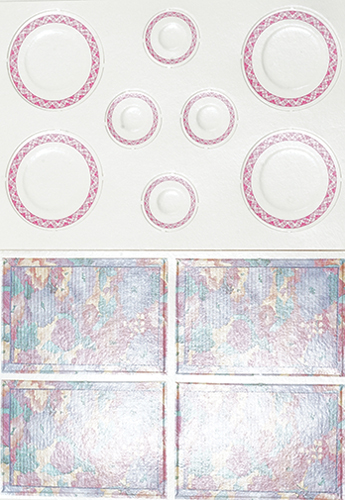 CLA90722 - Table Setting/12: Picnic Pizazz, Pink