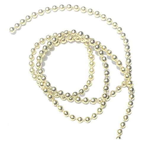 Gold Ball Garland, 1 yd.