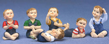 DDL1209 - Young Boy Doll Assorted