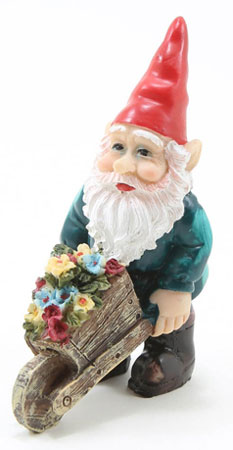 DDL1216 - Gnome with Flower Cart