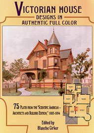 DOV1096 - Victorian House Designs In Full Color