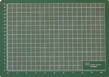 EXL60002 - Cutting Mat 8In X 12In, Green