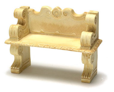 FCA1008TN - Victorian Bench, Tan, 2Pc