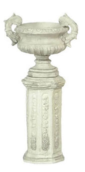 FCA1443GY - Ancient Urn with Base 2 Sets Gray