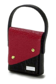 FCA1598 - Discontinued: Ladys Handbag, Red & Black