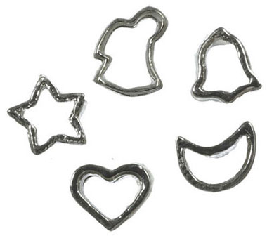 FCA2439A - Cookie Cutter, Set Of 5