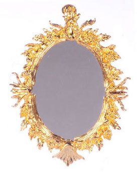 FCA3995GP - Oval Antique Mirror, Goldplated