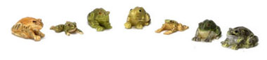 FCA725 - Discontinued: Frogs/Set Of 7