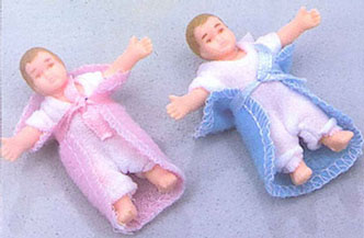 HOR60160 - Dolls:Twin Babies