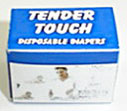 HR51050 - Tender Touch Disposable Diapers