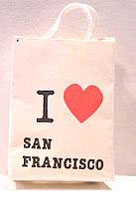 HR58077 - I Love San Francisco Shopping Bag